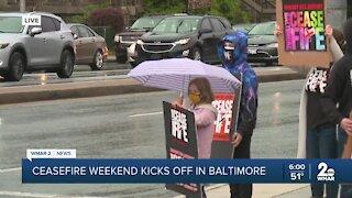 Ceasefire Weekend kicks off in Baltimore