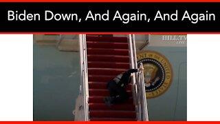 Biden Falls ThreeTimes While Boarding Air Force One