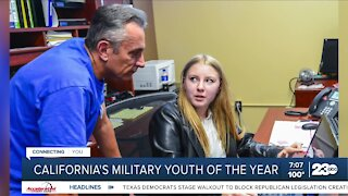 Kern County student named California Military Youth of the Year