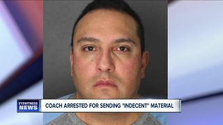 Youth sports coach arrested