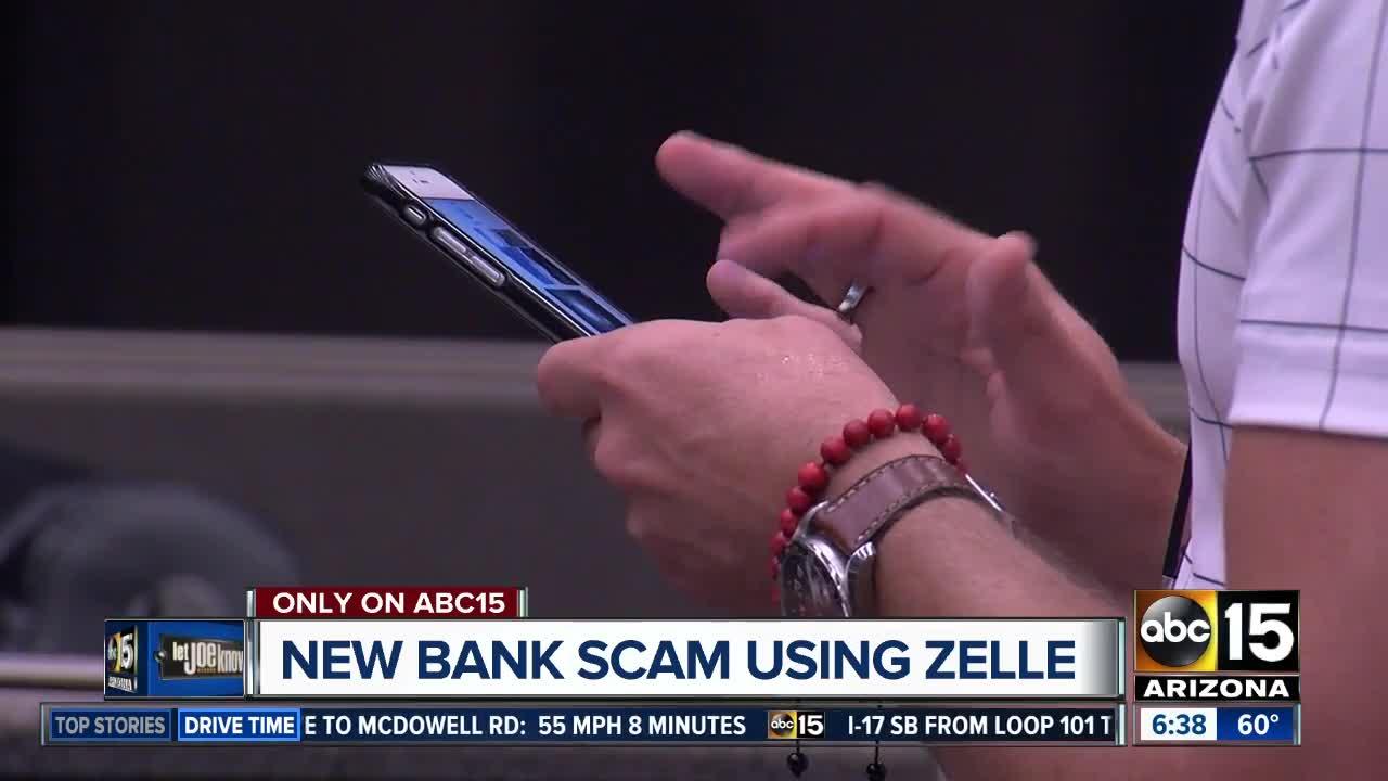 New bank scam using Zelle