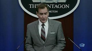 Pentagon Press Secretary Briefs Media