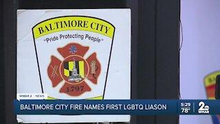 Baltimore City Fire names first LGBTQ Liaison