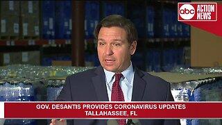 Gov. DeSantis provides coronavirus updates