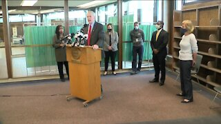 State, local leaders address vaccine hesitancy at Northwest Community Clinic