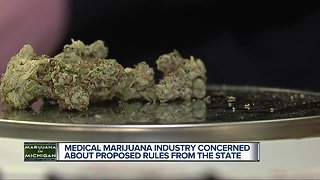 Medical marijuana industry concerned about proposed rules form the state