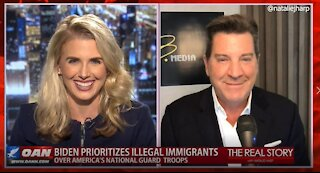 The Real Story - OANN Clueless Mayorkas with Eric Bolling