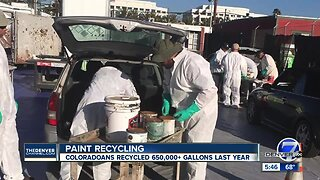 Paint recycling event Saturday