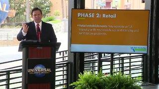 Governor Ron DeSantis announces plan to Phase 2
