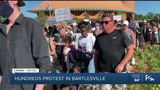 Hundreds march in Bartlesville Black Lives Matter protest