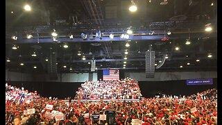 Trump rallies supporters in Las Vegas