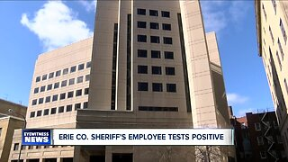 Erie County County Sheriff's Office employee tests positive for COVID-19