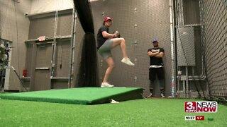 Future NU pitcher Brockett learns from former Husker hurler