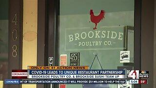 COVID-19 brings unique restaurant partnership to Brookside