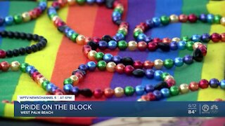 'Pride on the Block' event held in West Palm Beach