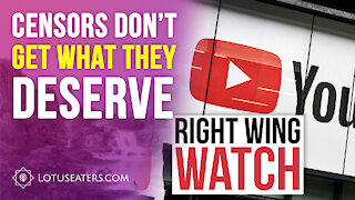 Right Wing Watch Doesn't Get What They Deserve