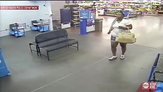 Woman caught stealing cigarettes at Winter Haven Walmart