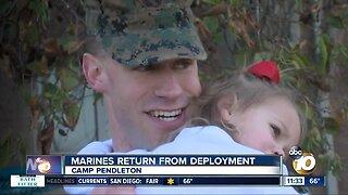 Marines, sailors return from lengthy deployment