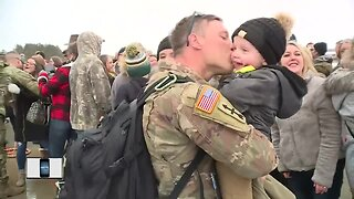 Local Wisconsin Army National Guard troops back from Afghanistan