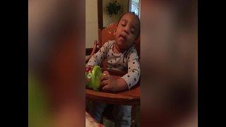 Baby Boy can't Stay Awake