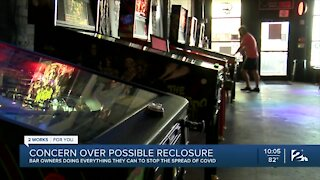 Tulsa bar goers concerned about second shutdown
