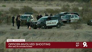 Police investigating shooting near Valencia and Santa Cruz River