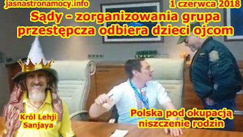 Sądy - zorganizowania grupa przestępcza odbiera dzieci ojcom - Polska pod okupacją