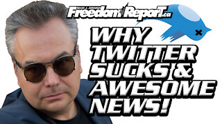 Why Twitter Sucks and Other News Updates With Kevin J. Johnston