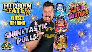 Hidden Fates Tin Set #5 | Shiny Hunting | Pokemon Cards Opening