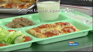 Mr. Food - School Lunch Square Pizza