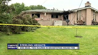 Woman dead, 2 others injured in Sterling Heights house fire