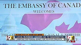 Local business leaders go to Washington