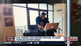 DJs host virtual party