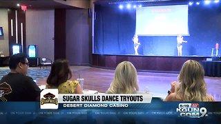 Sugar Skulls dance tryouts