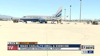 McCarran Airport prepares for possible mass casualty scenario through training drill