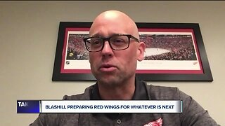 WATCH: Jeff Blashill talks to Brad Galli about 'empty feeling' with Red Wings season paused