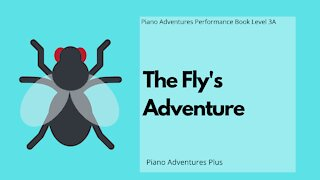 Piano Adventures Performance Book 3A - The Fly's Adventure