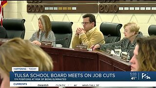 Tulsa Public Schools Board to Hold Special Meeting and Vote on Job Cuts Proposal