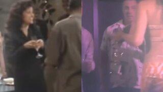 Chris Cuomo dances with Elaine