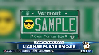 Emojis coming to license plates?