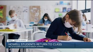 Howell students return to class Wednesday