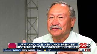 UFW announces new union president