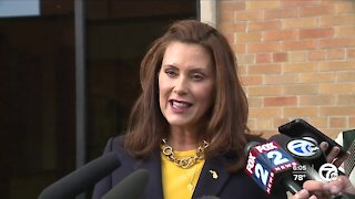 Governor Whitmer applauds Michigan districts, health departments for school mask mandates