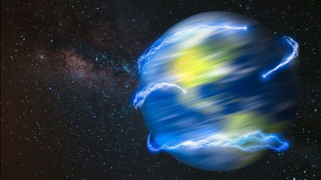 What If Earth Was Spinning at the Speed of Light?