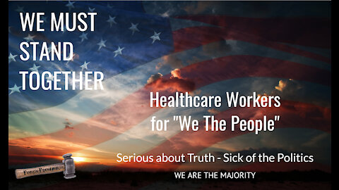 Calling ALL Healthcare Workers | RISE UP | SPEAK UP | FEAR NOT