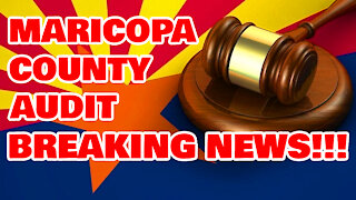 Maricopa Audit Update BREAKING NEWS!!!!!