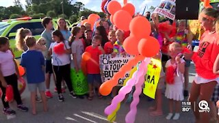 #LunaStrong: Jupiter girl gets surprise celebration after last chemotherapy treatment