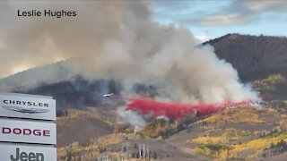 Fire officials prepared for aggressive attack on Silverthorne fire Tuesday morning