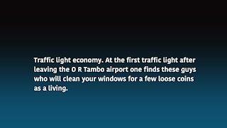 South Africa -Johannesburg - Traffic light economy(video) (BTk)