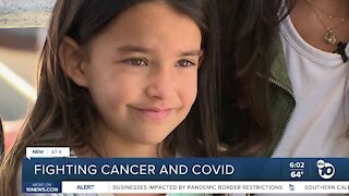 6-year-old San Diegan fighting cancer and COVID-19
